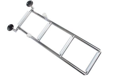 Transom Swim Ladder W/Wide Bottom Rung<br>CP-18, CP-22, C-25, C-27