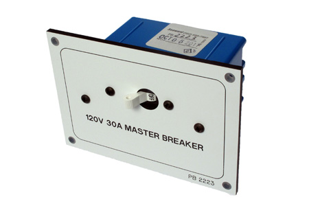 Electrical Panel Transom Master Breaker
