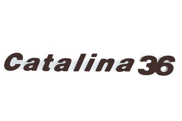 "<span style= >Logo ""Catalina 36"" Molded Plastic</span>"