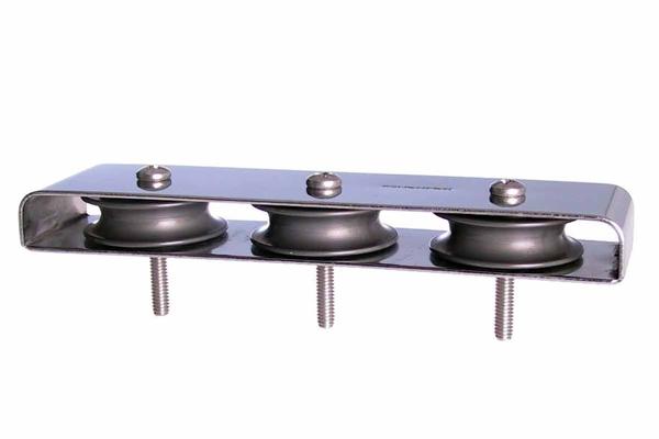 """<span style= >Deck Organizer Ball Bearing Triple 2-1/8""""<br/>Cntr to Cntr</span>"""