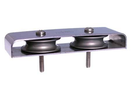 """<span style= >Deck Organizer Ball Bearing Double 2-1/2"""" Centers</span>"""