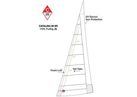<span style= >C-28 Std Jib 110% Furling by Ullman</span>