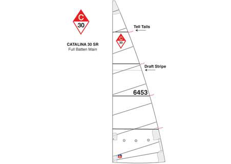 <span style= >C-30 Std Rig Full Batten Main</span>