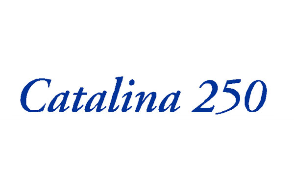 "<span style= >Logo ""Catalina 25, C-250"" Vinyl</span>"