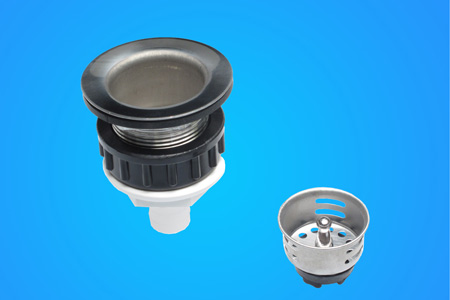 <span style= >Sink Drain Assembly Straight w/Stainless Flange</span>