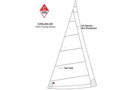 <span style= >C-250 150% Furling Genoa by Ullman</span>