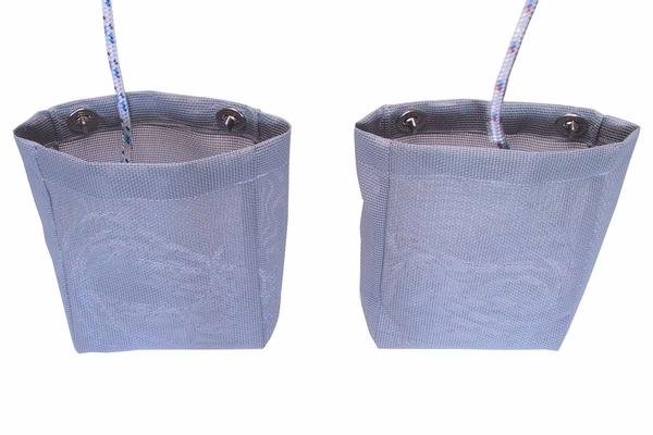 <span style= >Halyard Bags, Gray Mesh, C-22, CP-22, C-25, C-250</span>