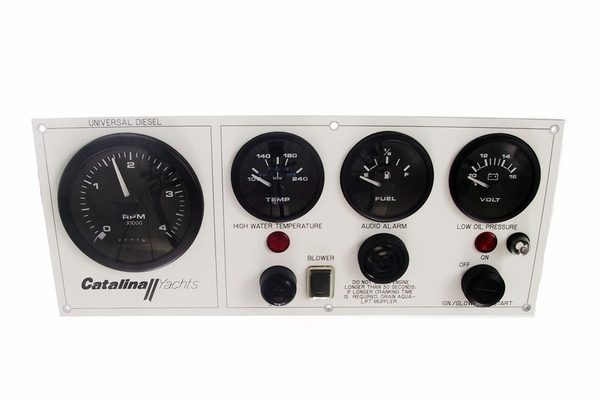 <span style= >Engine Instrument Seaward Panel<br/>Catalina Yachts <-95</span>