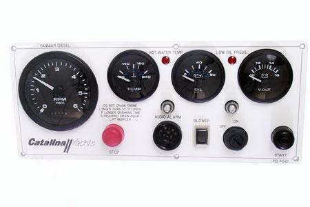 <span style= >Engine Instrument Seaward Panel<br/>Yanmar Catalina Yachts <-95</span>