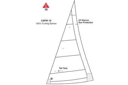<span style= >CP-18 150% Furling by Ullman</span>