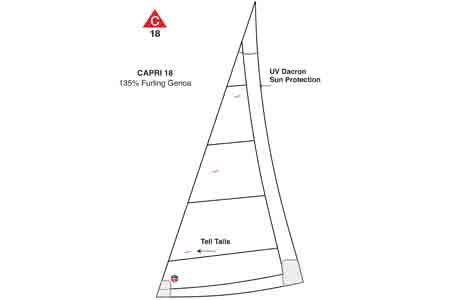 <span style= >CP-18 135% Furling Genoa by Ullman</span>