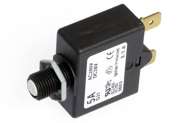 <span style= >Circuit Breaker Push to Reset 5 Amp</span>