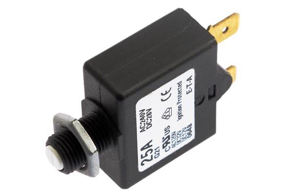 <span style= >Circuit Breaker Push to Reset 25 Amp</span>