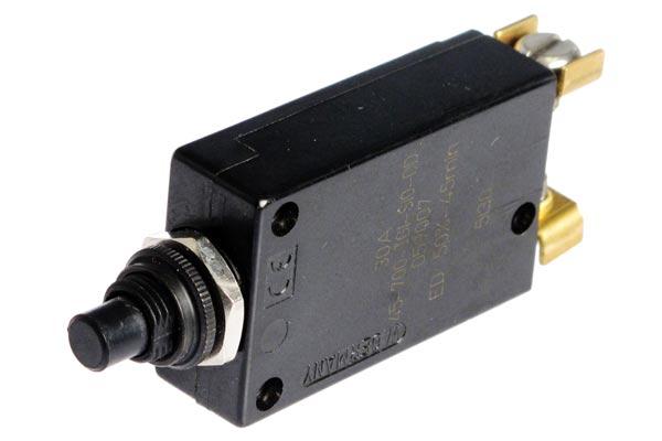 <span style= >Circuit Breaker 30 Amp<br/>Push-On/Push-Off</span>