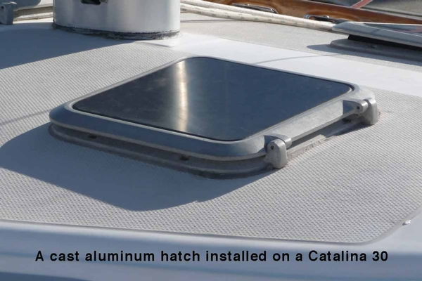 "<span style= >Hatch, Bomar Cast Aluminum<br/>12-3/8"" x 12-3/8""</span>"