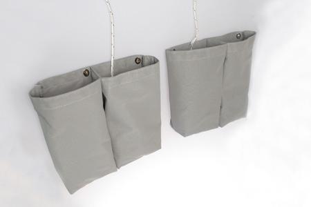 <span style= >Halyard Bags C-270, C-28, Gray Mesh</span>
