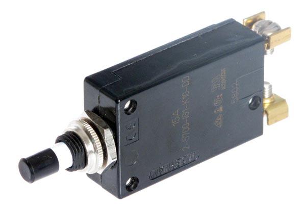 <span style= >Circuit Breaker 15 Amp<br/>Push-On/Push-Off</span>