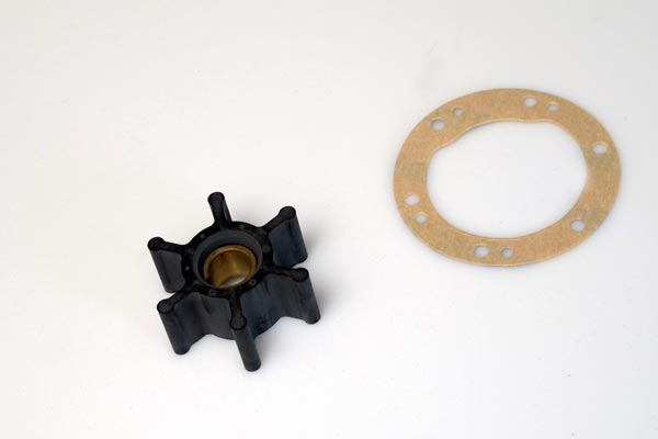 <span style= >Water Pump Impeller Kit<br/>2GM & 3GM Yanmar Engines, Pump w/ Straight Screw in Barbs</span>