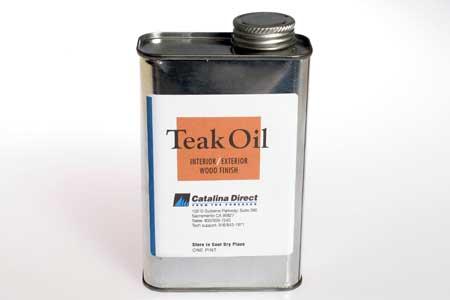 <span style= >Teak Oil Finish Interior <1985 & All Exteriors</span>