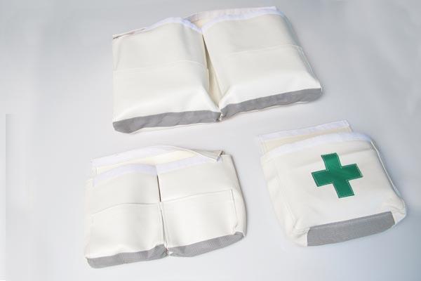 <span style= >Aid Bags C-270, White Vinyl</span>