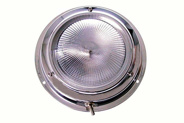 <span style= >Cabin Light Round Stainless Steel</span>