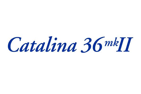 "<span style= >Logo ""Catalina 36 MK II"" Vinyl</span>"