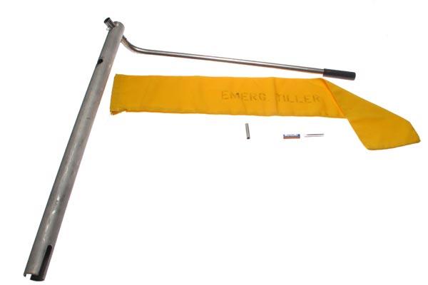 "<span style= >Emergency Tiller Kit, 1-15/16"" O.D. Universal</span>"