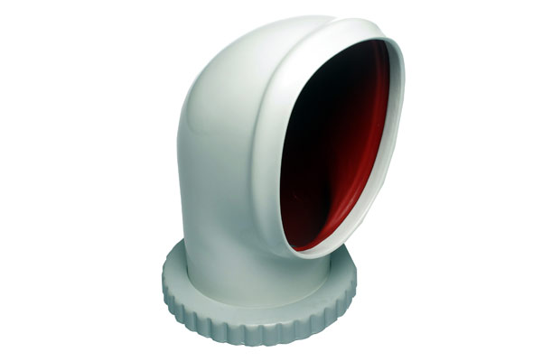 """<span style= >Cowl Vent C-34, C-36, C-42 W/Threaded Ring 4""""</span>"""