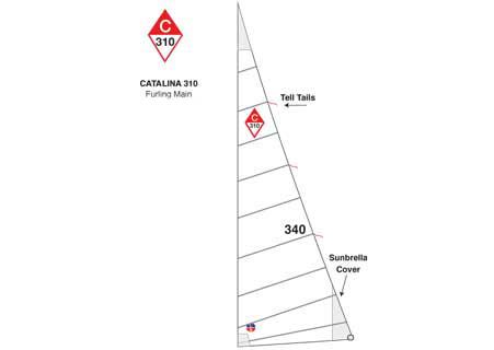 <span style= >C-310 In Mast Furling Main by Ullman</span>