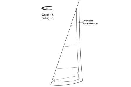 <span style= >CP-16 Furling Jib by Ullman</span>