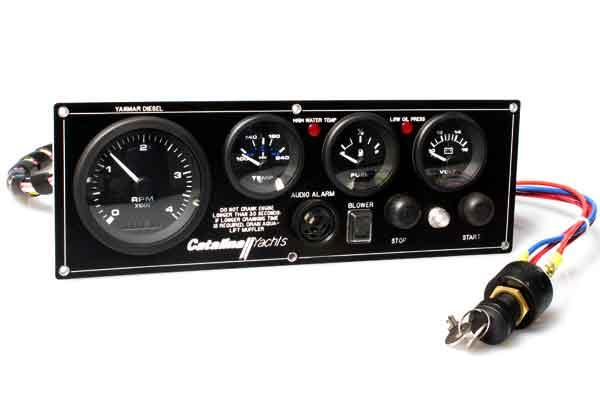 <span style= >Engine Instrument Seaward Panel C-350, C-355, C-375 w/ Yanmar</span>