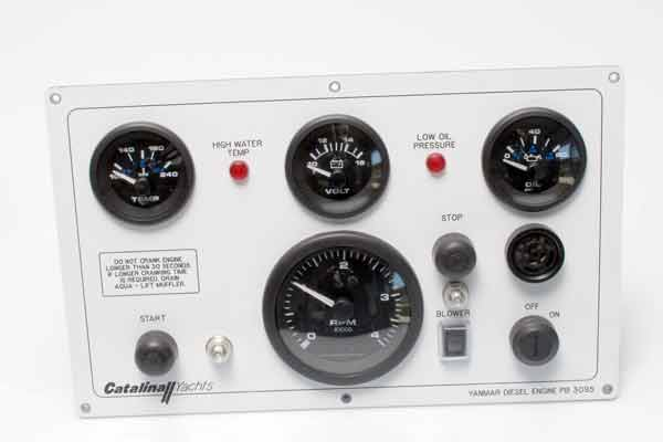 <span style= >Engine Instrument Panel C-400, C-470 w/ Yanmar 4JH3</span>