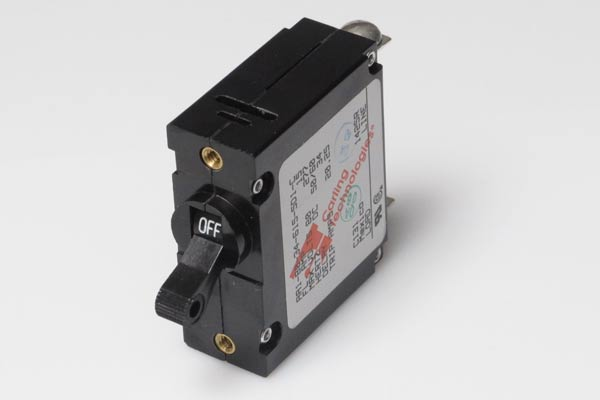 <span style= >Circuit Breaker<br/>15 Amp DC Black Toggle</span>