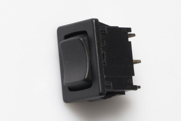 """<span style= >Rocker Switch, 11/16"""" x 1/2"""" Mounting Hole, On/Off/On</span>"""