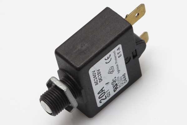 <span style= >Circuit Breaker Push to Reset 20 Amp</span>