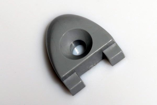 """<span style= >T Track End Stop, 1""""</span>"""