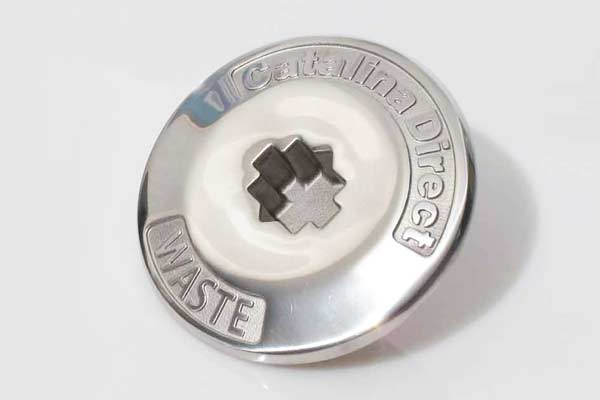 <span style= >Deck Pipe Cap Waste, Stainless Steel</span>