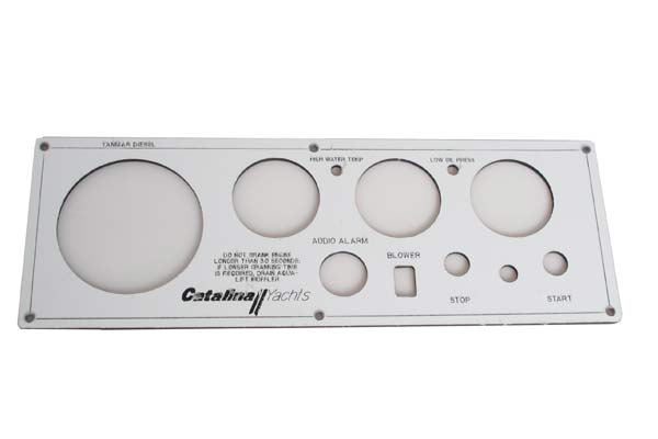 <span style= >Engine Instrument Seaward Panel, Faceplate Only C-42 Vision Series</span>
