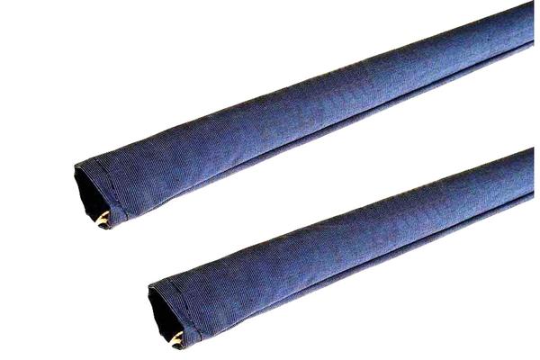 """<span style= >Lifeline Cushions, 57"""" in Royal Blue Tweed, PR</span>"""
