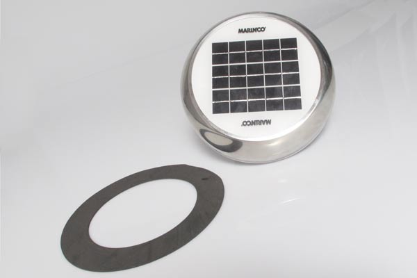 """<span style= >Vent Solar Powered <br/>4"""" Stainless Steel New</span>"""