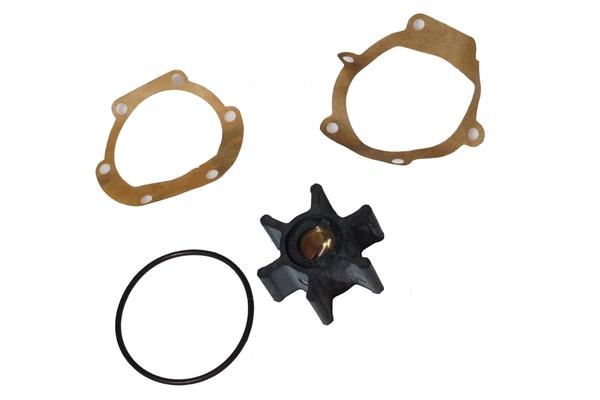 <span style= >Water Pump Impeller Kit 3YM Yanmars or 2GM/3GM, Pump w/ Cast In Straight Barbs</span>