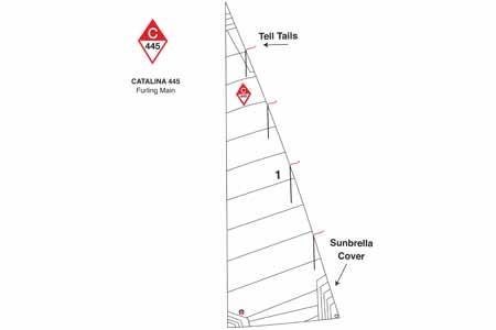 <span style= >C-445 In Mast Furling Main</span>