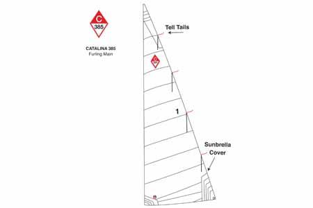 <span style= >C-385 In Mast Furling Main</span>