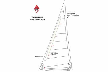 <span style= >C-315 Genoa 155% <br/>Furling Ullman Offshore</span>