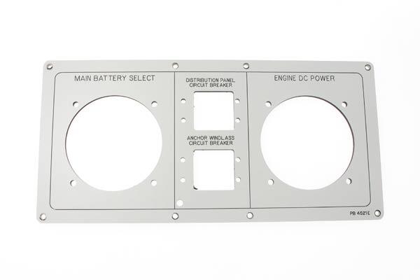 <span style= >DC Panel Faceplate, C-470</span>