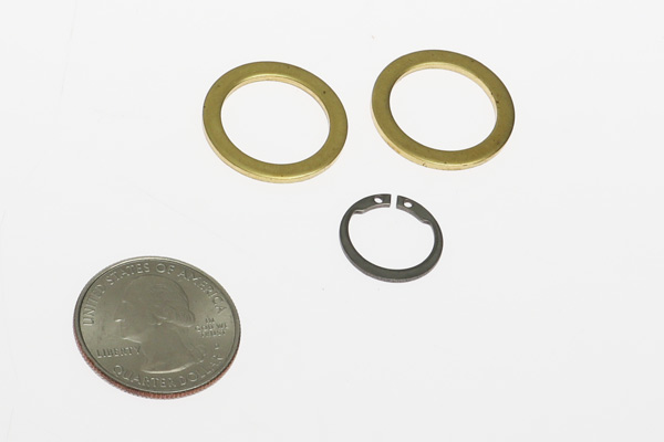 <span style= >Water Pump Washer and Snap Ring Set, Oberdorfer</span>