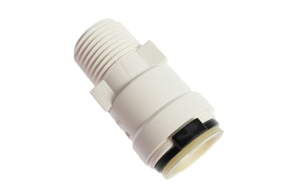 """<span style= >Quick Connect Adapter, 1/2"""" Female Tube x 1/2"""" Thread</span>"""