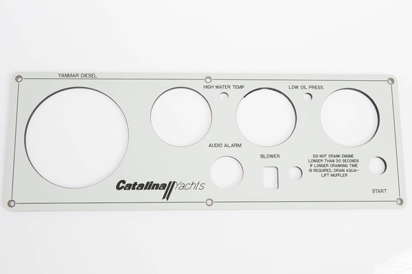 <span style= >Engine Instrument Panel, Seaward Faceplate Only C-309, C-387, C-440</span>