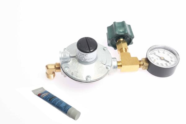 <span style= >Propane Regulator Kit Low Pressure 350,000 BTU</span>