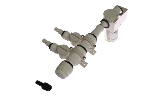 "<span style= >Fresh Water Manifold, Inlet Control, 2 Valves, 1/2"" Hose</span>"
